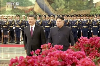 China and North Korea remain historic allies.