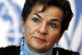 """Former UN climate chief Christiana Figueres says the developing world does not need Australia's """"toxic, expensive"""" coal."""