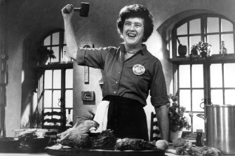 Julia Child from the documentary Julia! America's Favorite Chef.