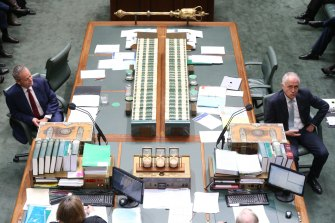 Prime Minister Malcolm Turnbull and Opposition Leader Bill Shorten.