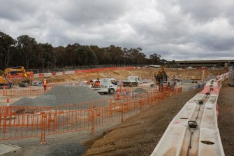 The light rail project has led the ACT government's spending, but it will slow overall once it it finished.