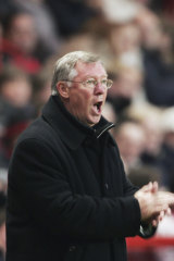 Alex Ferguson's United teams were known for dramatic late goals.