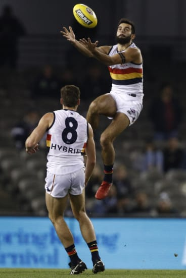 Wayne Milera takes flight.