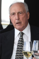 Paul Keating was cheered for calling for a clean out of security chiefs who were raising the alarm over China.