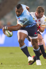 Taqele Naiyaravoro left the Waratahs on a high in 2018.