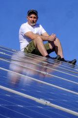 Craigieburn solar-adopter Ash Cooke.