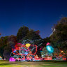 Intriguing pieces light up Brisbane's largest outdoor art gallery