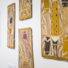 Bark paintings from the golden period return, half a century later