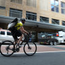 Fewer cars in Sydney CBD opens way for cycleway, more pedestrian space