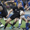 All Blacks beat 14-man France with help from Australian ref