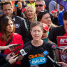 Unions spend big on bid to turf out Morrison government, change laws