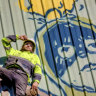 'Playful' mega-mural honours our artists ... and construction workers
