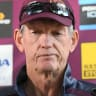 'I haven't spoken to the Dragons,' says Broncos coach Wayne Bennett