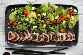 Look, no rice! Adam Liaw's low-carb tuna and avo sushi salad