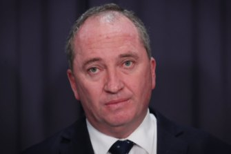 Former water minister Barnaby Joyce approved the controversial deal.