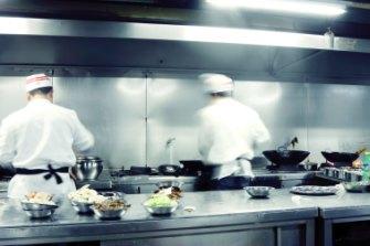 """Restaurant workers often do overtime for """"free""""."""