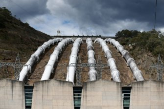 Snowy Hydro Tumut 3 power station in Talbingo, NSw.