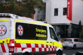 A 22-year-old pedestrian has suffered head injuries after being hit by a car in Queanbeyan.