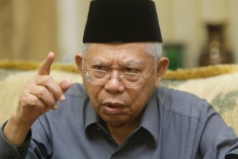 Ma'ruf Amin helped Jokowi win re-election.  Will that translate into an Islamic veto over reform measures?