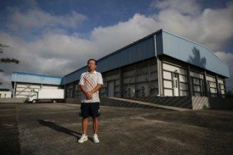 Michael Jiang, managing director of Sino-Van Fisheries Limited, in Port Vila.