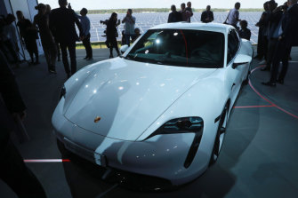 An all-electric Porsche is unveiled in September. A pivot to electric vehicles is part of Porsche-owner Volkswagen's plan to put the emissions scandal behind it.