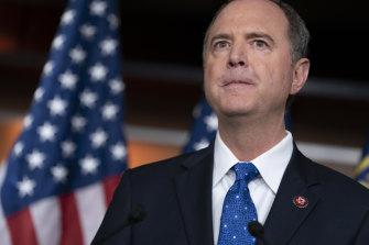 House Intelligence Committee chairman, Democrat Adam Schiff.