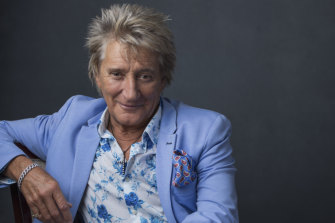 Rod Stewart, pictured in August 2018, has beaten cancer for the second time.