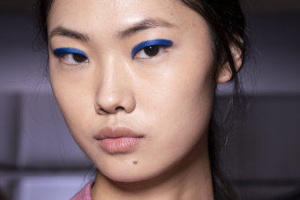 For a colourful statement, try one of this year's biggest trends: monochromatic make-up.