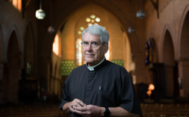 The Very Reverend Dr Gregory Jenks, Dean of Christ Church Cathedral, Grafton.