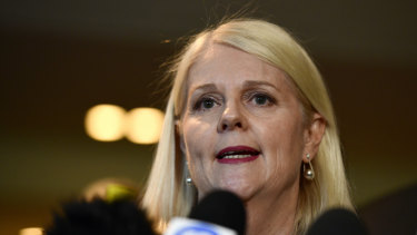 Federal Industry Minister Karen Andrews urged insurers to be part of the solution in the building industry crisis.