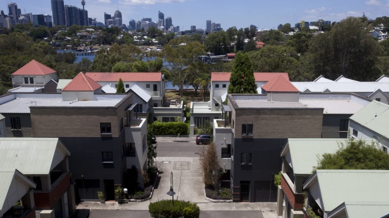 House prices are coming down.