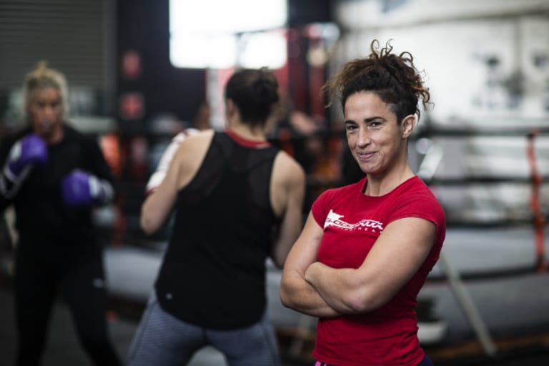 In a new documentary, trailblazer pugilist Bianca Elmir encourages women to 'take the road less travelled'.