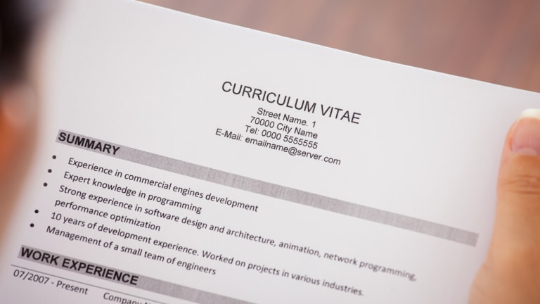Leaving your CV on your desk could be a sign to your boss that you're thinking of leaving.