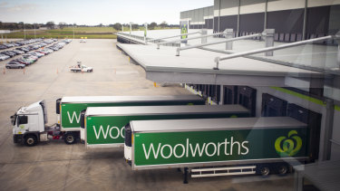 Woolworths will build a new distribution centre soon after finishing another $560 million automated warehouse in Dandenong last year.