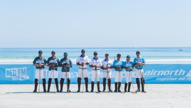 Polo players from around the world are heading to Broome for beach polo.