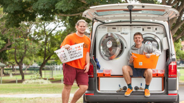 Since its launch in Brisbane, Orange Sky Laundry has expanded across the country.
