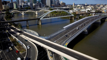 The toll for trucks using the Go Between Bridge will increase from $8.52 to $9.64.