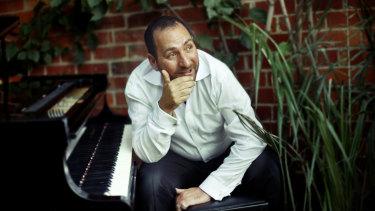 Pianist Steve Sedergreen.
