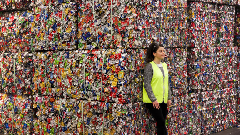 Planet Ark program manager Alejandra Laclette warns of the negative consequences of a suburban recycling collapse.