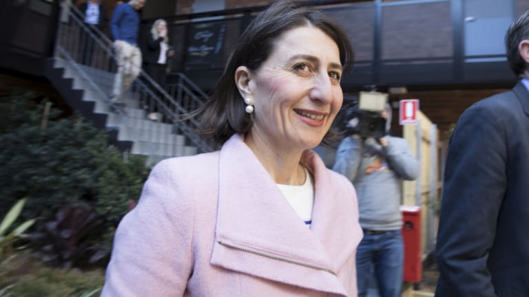 """Premier Gladys Berejiklian described it as a """"record investment"""" in the state's libraries."""
