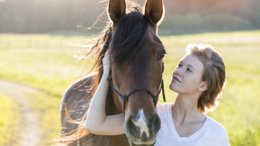 """Sue Spence: """"I had no idea how to drop into a calm, still place inside myself. Nobody had ever taught me that. It took a natural horseman to bring me out of my anxiety."""""""