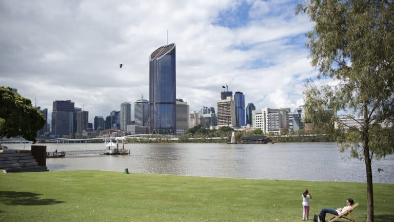 """Tourism Industry Development Minister Kate Jones says Brisbane could have a centre for Indigenous art, history and culture which could be """"bigger than MONA""""."""