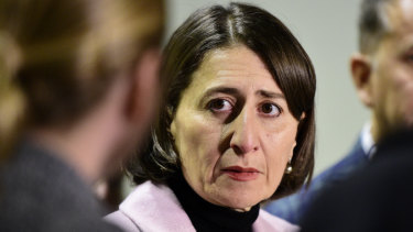 NSW Premier Gladys Berejiklian says her government will overhaul the construction industry.