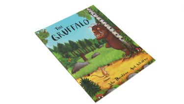 The Gruffalo, by Julia Donaldson, is a children's favourite.