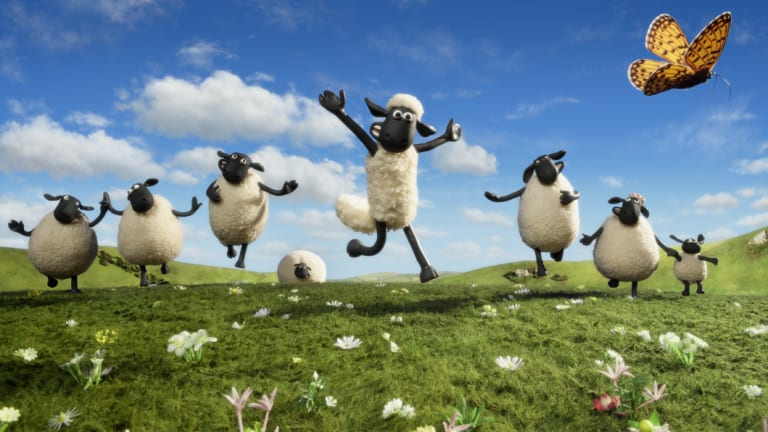 Shaun the Sheep.