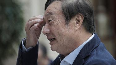 Ren Zhengfei, founder and CEO of Huawei.