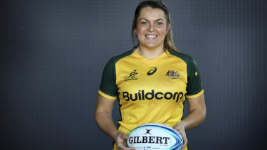 Grace Hamilton made her debut in 2016 after picking up rugby on university exchange in the United States.
