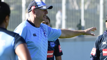 Speed and skill: Andrew Patmore hopes the Blues' most dangerous attributes are effective against Queensland.
