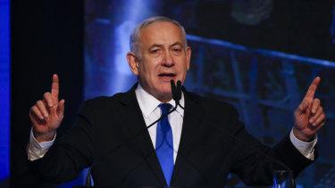 Israeli prime minister Benjamin Netanyau is struggling to keep the his job.