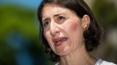 Premier Gladys Berejiklian announces the appointment of the first minister for public spaces.